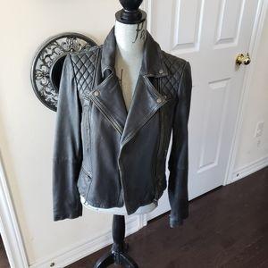 All Saints size US 8 beautiful leather jacket